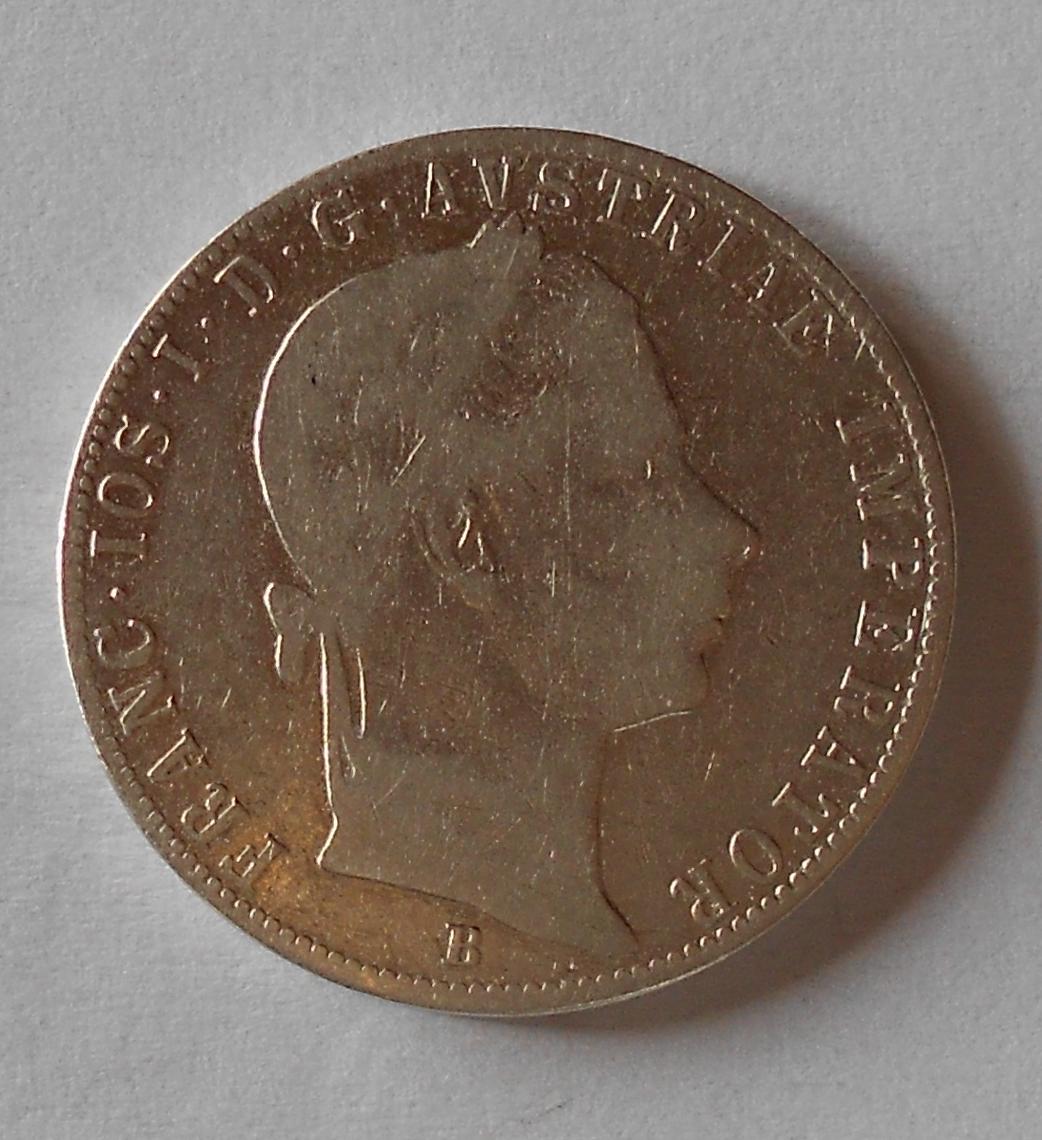 Uhry 1 Zlatník/Gulden 1860 B