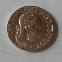 Uhry 1 Zlatník/Gulden 1884 KB