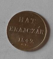 Uhry 6 Krejcar 1849