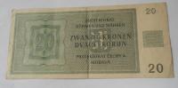 20 Koruna 1944, S 36H nep.