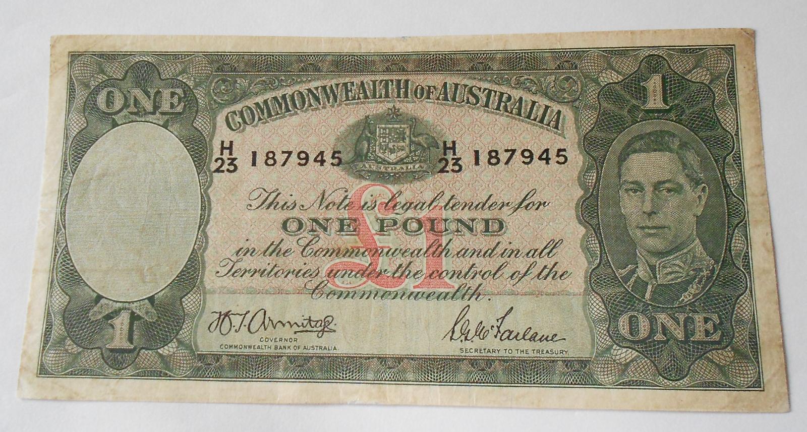 Austrálie 1 Pound, Jiří