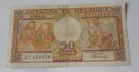 Belgie 50 Frank 1956