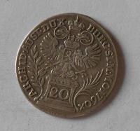 Čechy – Praha 20 Krejcar 1760 Marie Terezie
