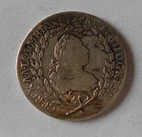 Čechy – Praha 20 Krejcar 1768 František Lotrinský