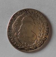 Čechy – Praha 20 Krejcar 1772 Marie Terezie