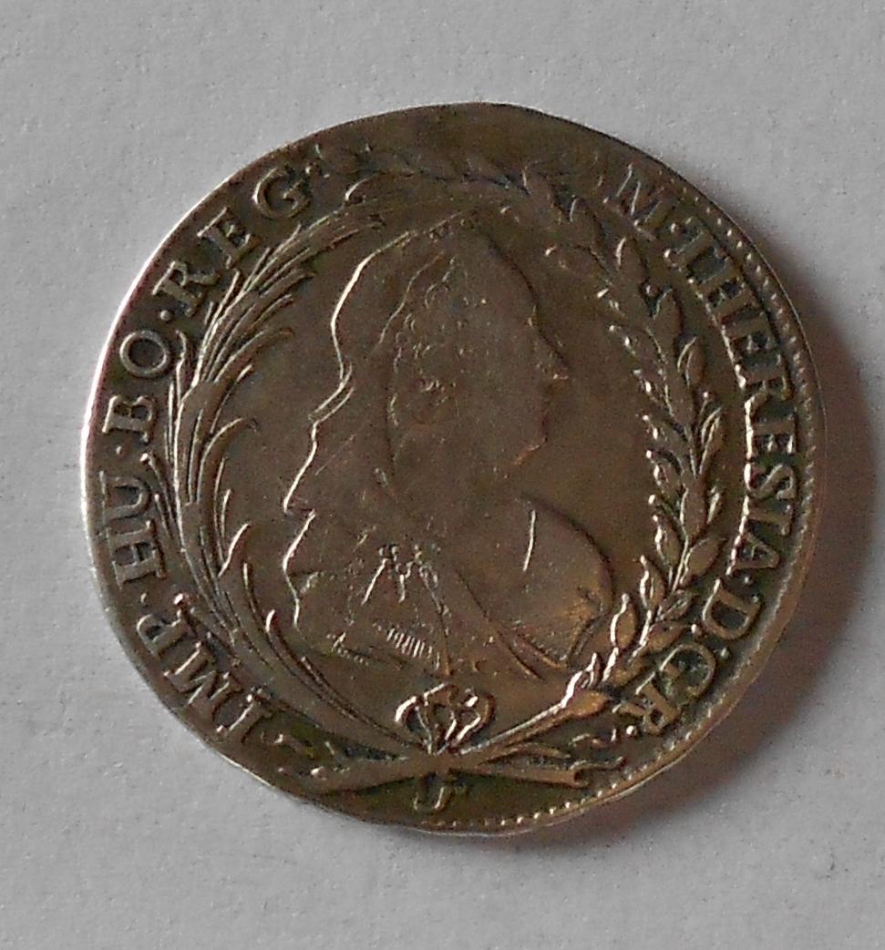 Čechy – Praha 20 Krejcar 1773 Marie Terezie