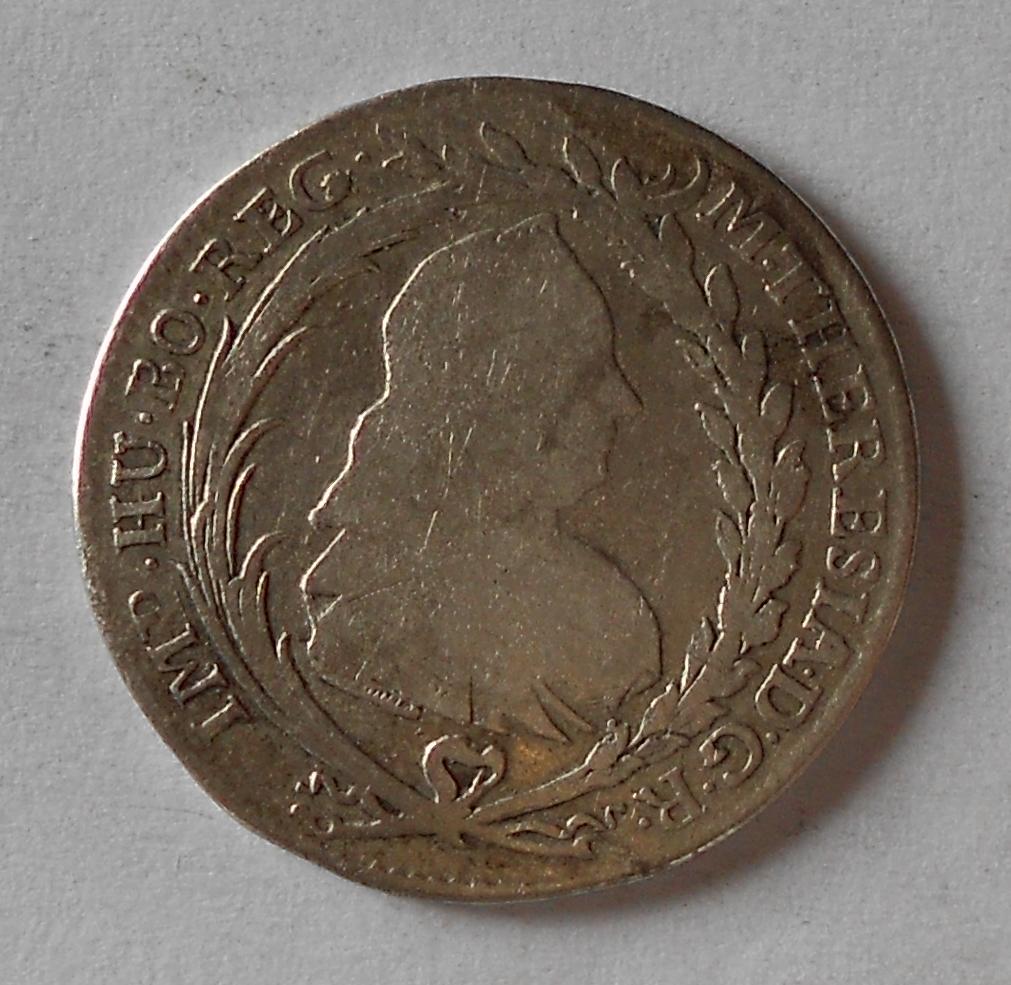 Čechy – Praha 20 Krejcar 1776 Marie Terezie