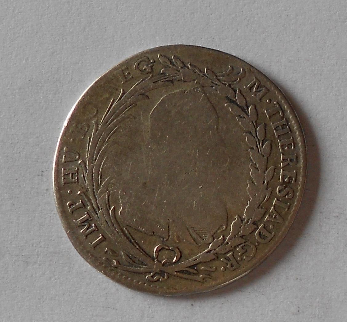 Čechy – Praha 20 Krejcar 1777 Marie Terezie