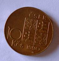 ČSFR 10 Koruna 1990, TGM