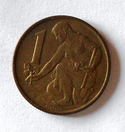 ČSR 1 Koruna 1957