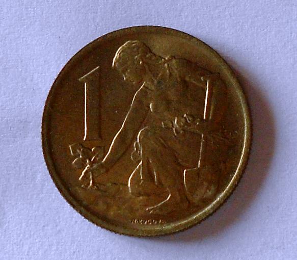ČSR 1 Koruna 1977