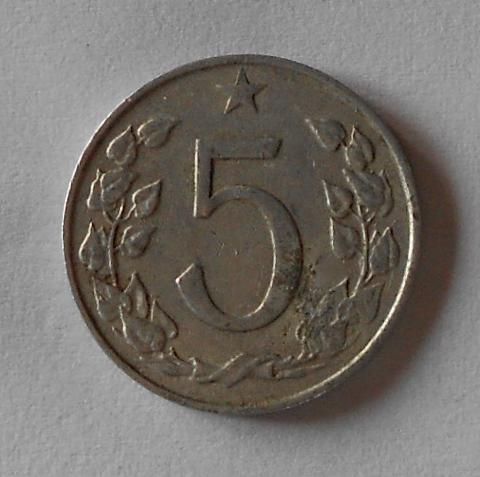 ČSR 5 Haléř 1967