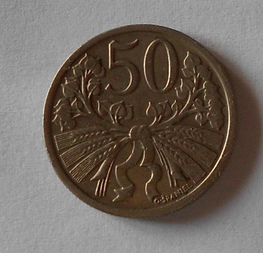 ČSR 50 Haléř 1921