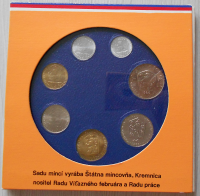 ČSSR Sada 1989