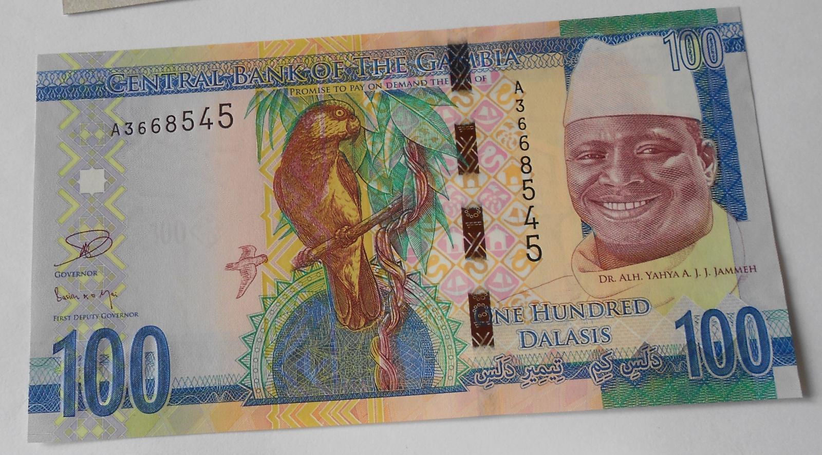 Gambie 100 Dalasis