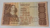 Jižní Afrika 20 Rand, erb