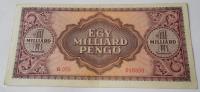 Maďarsko 1 mld Pengö 1946