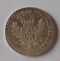 Rakousko 1/2 Tolar 1771 Marie Terezie