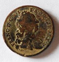Rakousko 1 Krejcar 1760 W František Lotrinský