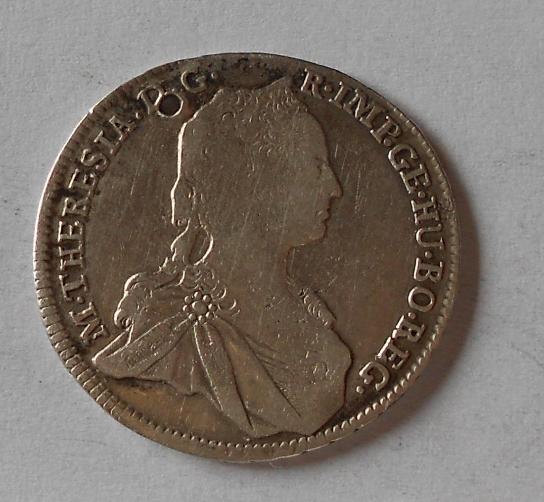 Rakousko 17 Krejcar 1762 Marie Terezie, dirka