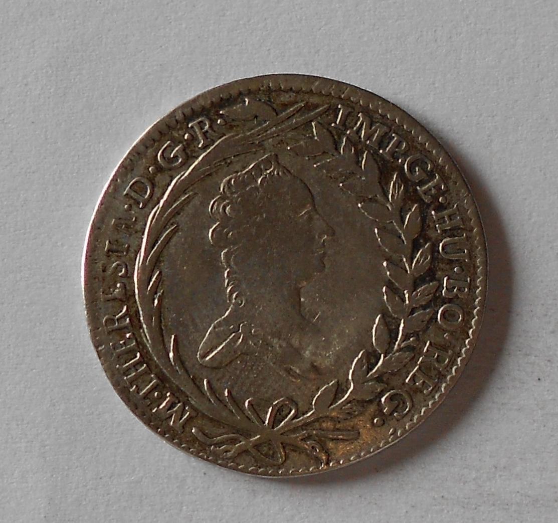Rakousko 20 Krejcar 1765 Marie Terezie