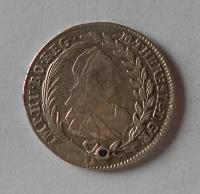 Rakousko 20 Krejcar 1770 Marie Terezie, dirka