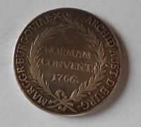 Rakousko – Günzburg Tolar 1766 Norman Convent