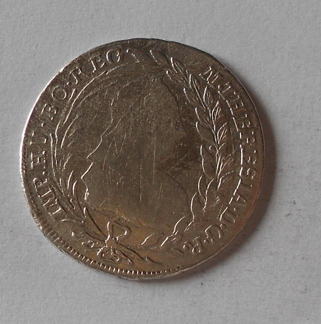 Rakousko ICSK 20 Krejcar 1772 Marie Terezie