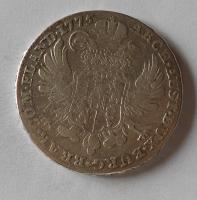 Rakousko Tolar křížový 1775 Marie Terezie