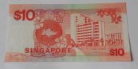 Singapur 10 Dollar, plachetnice