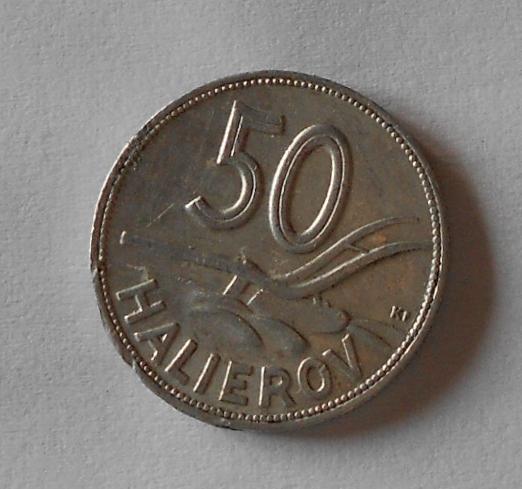 Slovensko 50 Haléř 1943