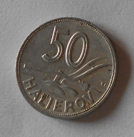 Slovensko 50 Haléř 1944