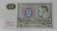 Švédsko 10 Koruna 1985