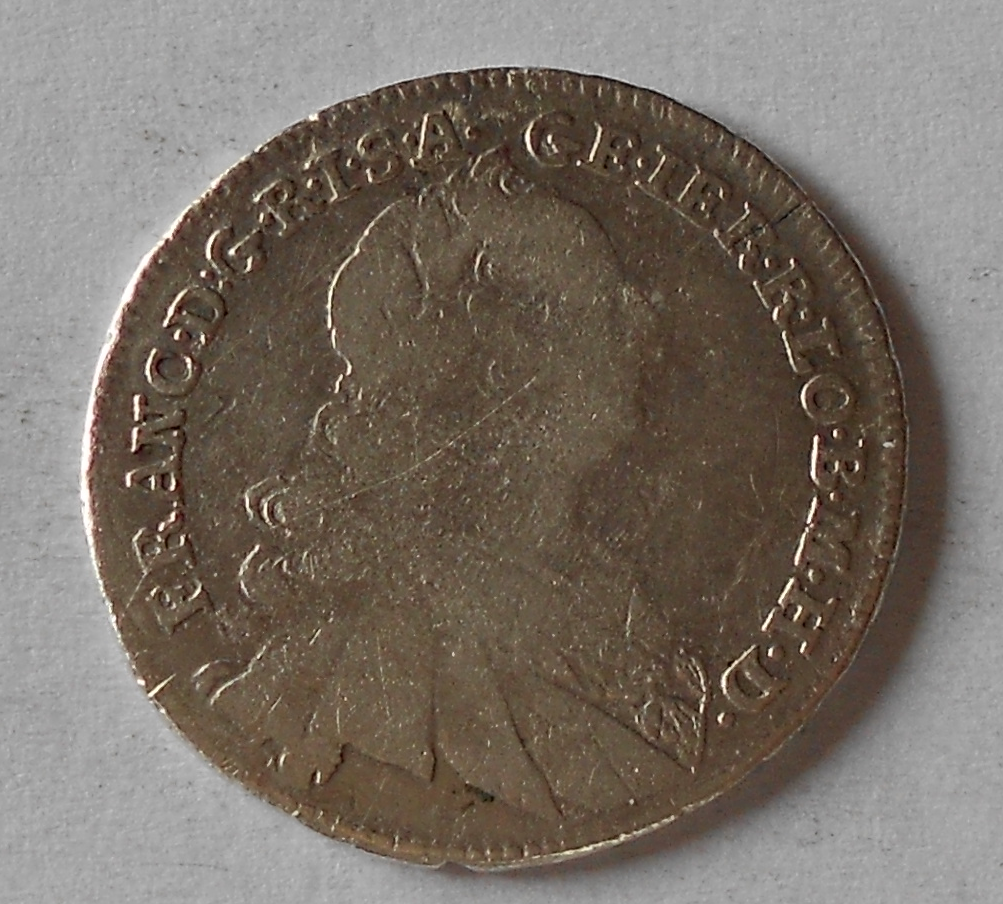 Uhry 17 Krejcar 1762 KB František Lotrinský