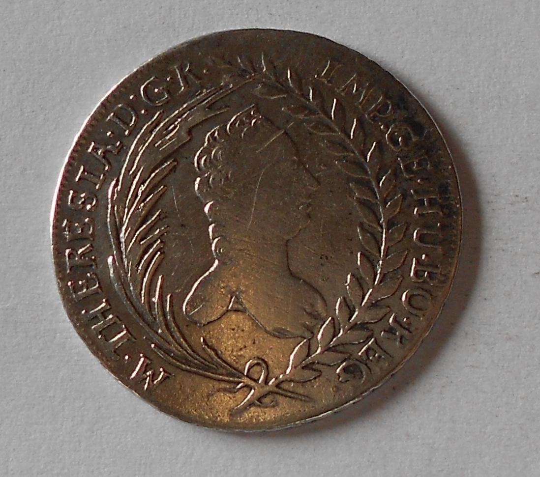 Uhry 20 Krejcar 1765 Marie Terezie