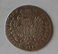 Uhry VII. Krejcar 1765 KB František Lotrinský