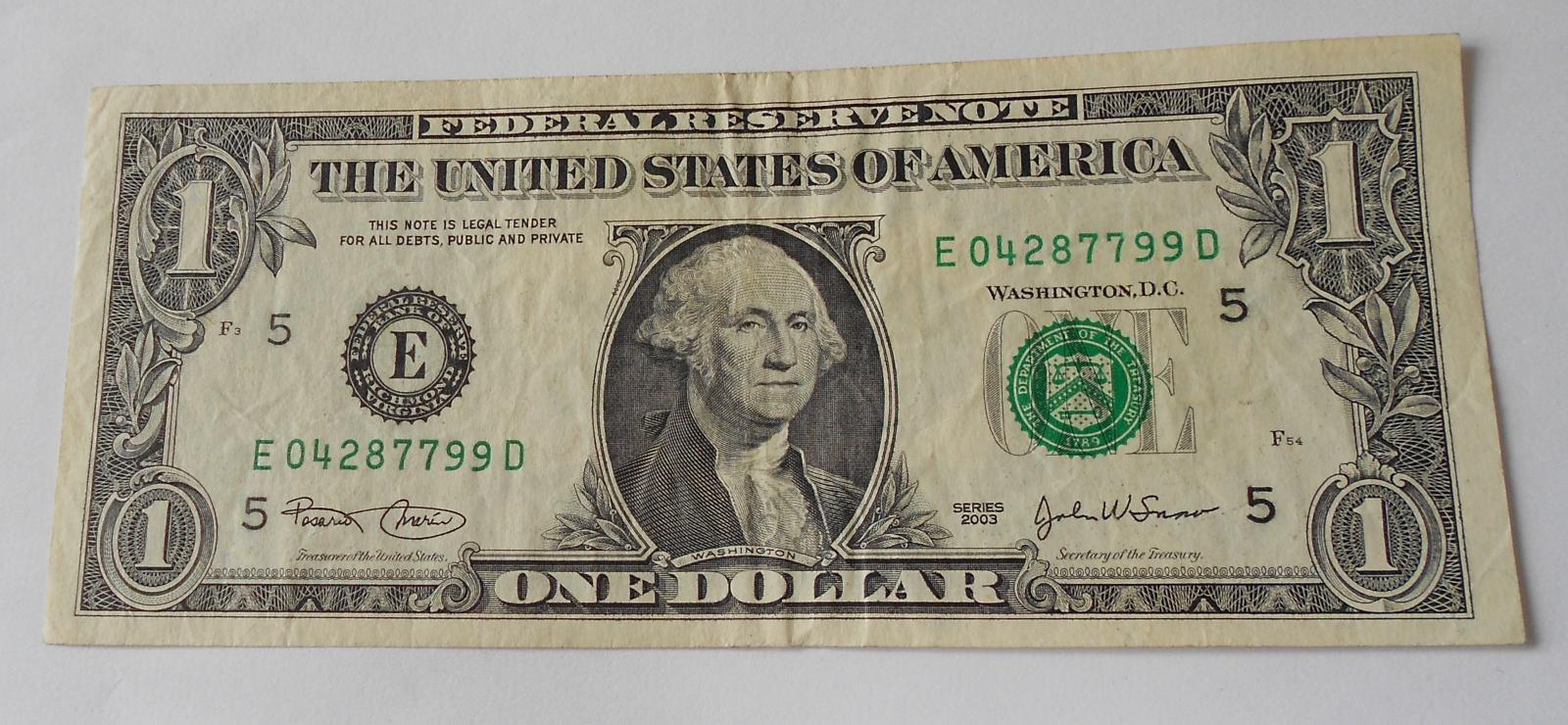 USA 1 Dollar 2003
