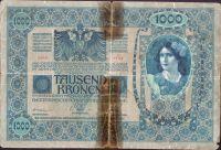 1000Kč/1902-18, kolek ČSR/, stav 4, série 1150, šedozelený podtisk