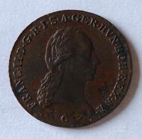 Čechy 3 Krejcar 1800 C František II. Stav