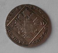 Čechy – Praha 7 Krejcar 1702 C František II.