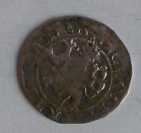 Čechy Pražský groš 1544 Ferdinand I.