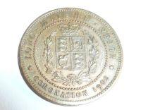 korunovační medaile, Jiří V., 1902 Velká Británie