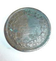 korunovační žeton Jiří IV. 1821, Velká Británie