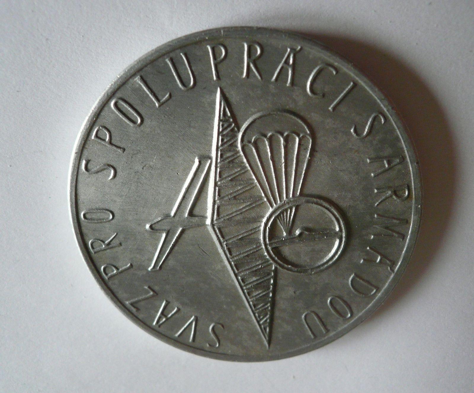 medaile Svazarm Al, ČSSR