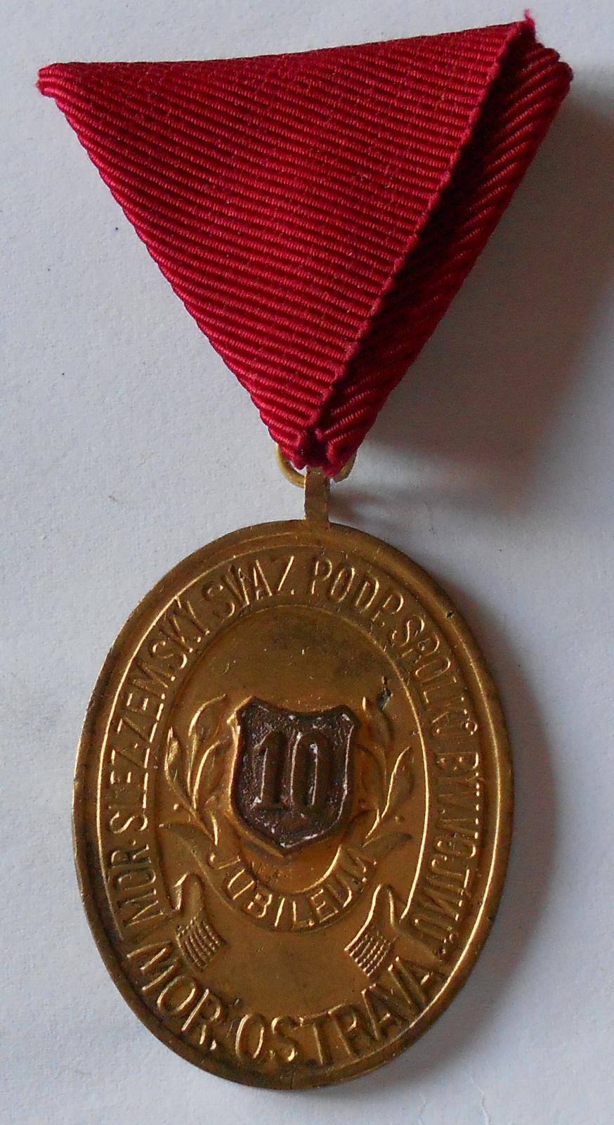 Moravská Ostrava 10 let svazu bývalých vojáků