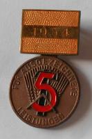 NDR Za vynikající pracovní výkony 1954