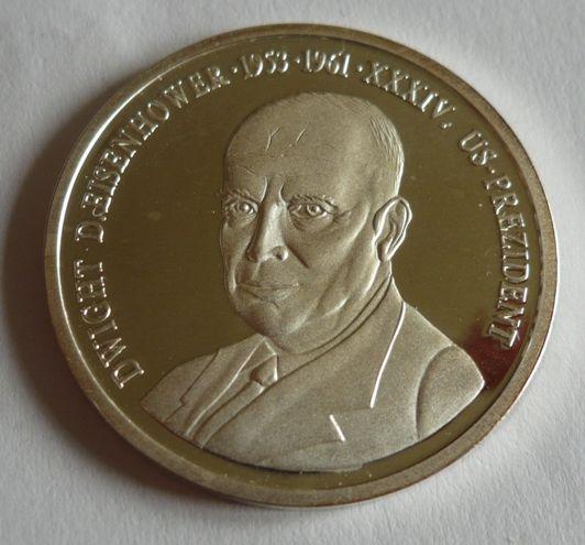 prezident Eisenhower, Ag med, USA