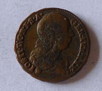 Rakousko 1/2 Krejcar 1774 S Josef II.