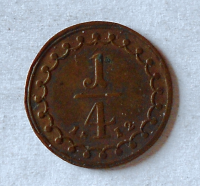 Rakousko 1/4 Krejcar 1812 František II. Stav