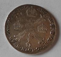 Rakousko 1/4 Tolar 1790 A Josef II.
